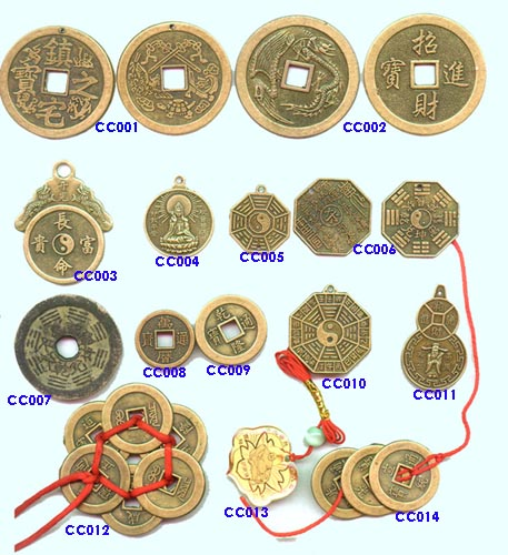 feng shui coins meaning